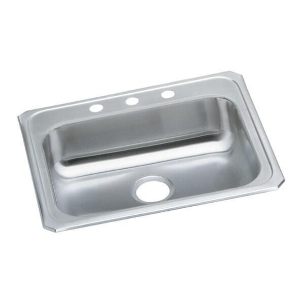 Elkay Celebrity Drop-in Brushed Satin Steel GECR25211 Kitchen Sink. Opens flyout.