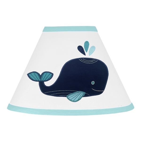 Shop Sweet Jojo Designs Lamp Shade For The Whale