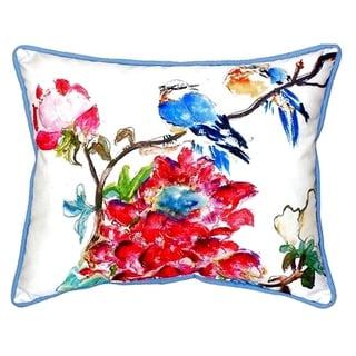 Camelia Small Indoor/ Outdoor Throw Pillow