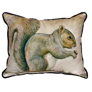 Squirrel Small Indoor/ Outdoor Throw Pillow