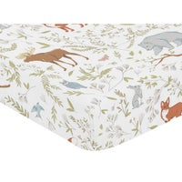 Jungle Baby Bed Sheets