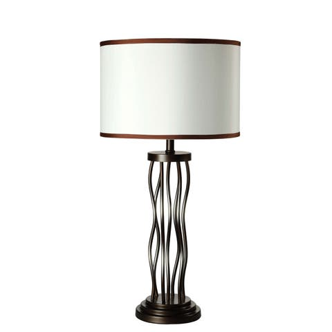 Acme Furniture Jared Antique Bronze Table Lamp (Set of 2)