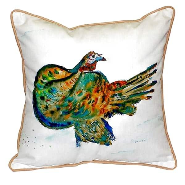 Turkey Small Indoor Outdoor Throw Pillow Overstock 14605054