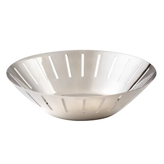 Elegance Radiance Stainless Steel Bowl/Basket, 10""
