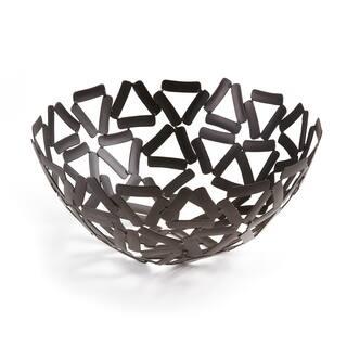 "Elegance Black Round Basket, 11""|https://ak1.ostkcdn.com/images/products/14605064/P21148693.jpg?impolicy=medium"