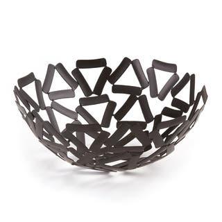 "Elegance Black Round Basket, 9.5""|https://ak1.ostkcdn.com/images/products/14605070/P21148694.jpg?impolicy=medium"