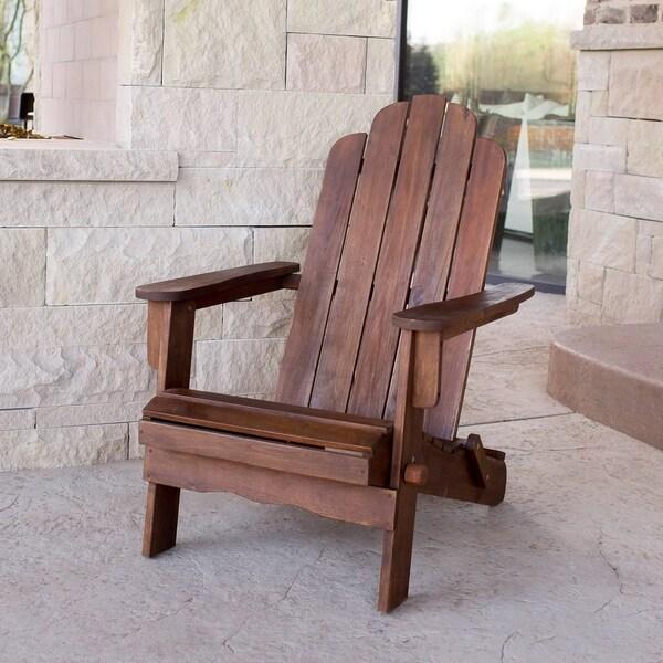 The Gray Barn Bluebird Acacia Patio Chair - Dark Brown