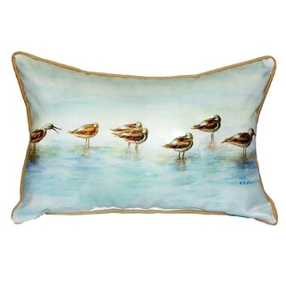 Avocets Small Indoor/ Outdoor Throw Pillow