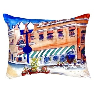 Canal Street No Cord Throw Pillow