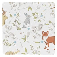 Sweet Jojo Designs Woodland Toile Collection Multicolored Memo Board