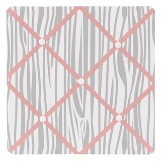Sweet Jojo Designs Woodsy Collection Coral and Mint Memo Board