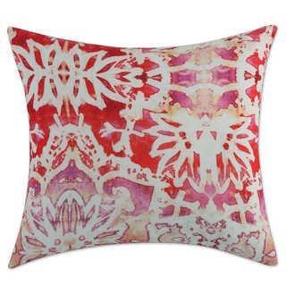 Tracy Porter Alouette Printed Floral Velvet 18x18 Decorative Pillow
