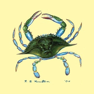 Blue Crab Coaster (Pack of 4)
