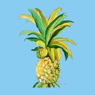 Betsy Drake Pineapple Coasters (Set of 4)