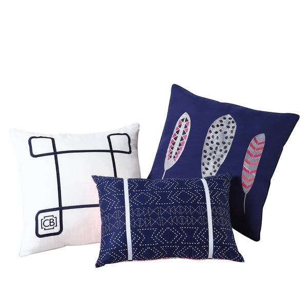 Clairebella Dreamcatcher 3-pack Decorative Pillow Set
