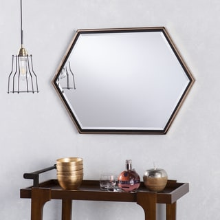 Holly & Martin Whexis Wall Mirror - Gold