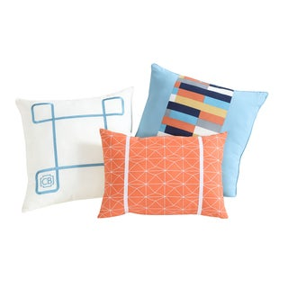 Clairebella Geometric 3-pack Decorative Pillow Set