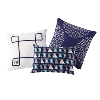 Clairebella Fractal 3-pack Decorative Pillow Set