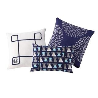 Clairebella Fractal 3-pack Decorative Pillow Set