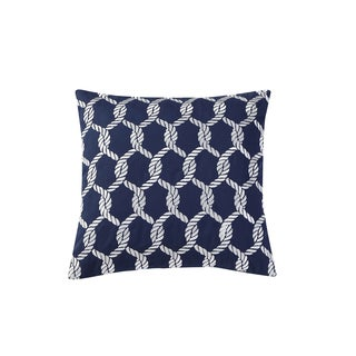VCNY Home Montauk Embroidered 18x18 Throw Pillow