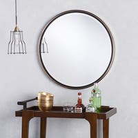 Holly & Martin Wais Round Wall Mirror - Gold