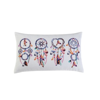 VCNY Home Printed Dreamcatcher 12x20 Throw Pillow