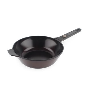 Neoflam MyPan Red Ceramic 11-inch Nonstick Chef's Pan with Detachable Handle