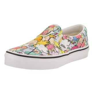 Vans Kids' Dallas Clayton Classic Slip-on Multicolored Canvas Skate Shoes