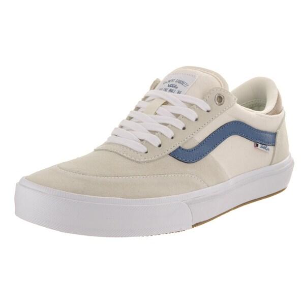 619490d9e9d Shop Vans Men s Gilbert Crockett Pro 2 White Suede Skate Shoes ...