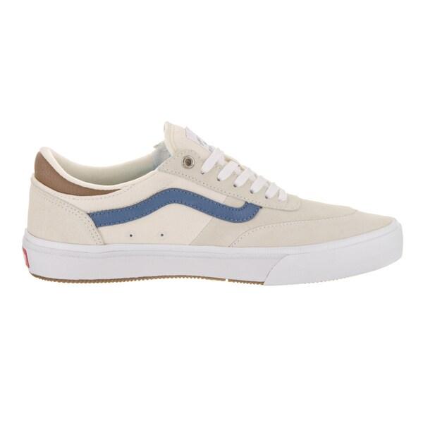Shop Vans Men's Gilbert Crockett Pro 2 White Suede Skate