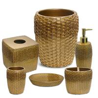 Chateau 6 Piece Bath Accessory Set or Separates- Bronze