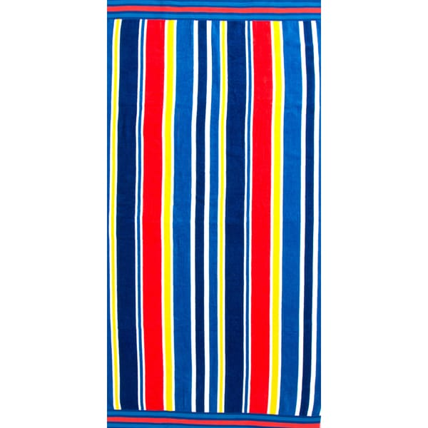 St. Tropez Sands Sail Away Beach Towel Collection