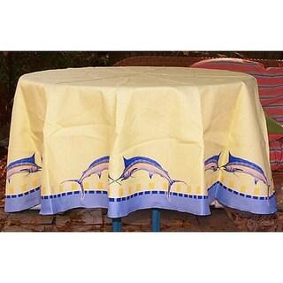Blue Marlin 58 Tablecloth