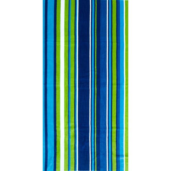 St.Tropez Sands Oceanic Blue Beach Towel Collection