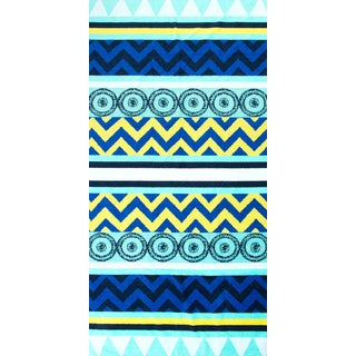 St.Tropez Sands Beach Towel Collection - Tribal Blue