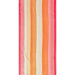 St. Tropez Sands Tangerine Pink Beach Towel Collection