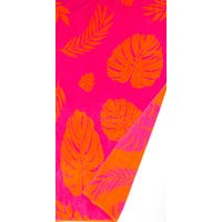 St.Tropez Sands Orange Leaf Beach Towel Collection