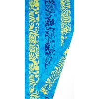 St.Tropez Sands Hawaiian Floral Blue Beach Towel Collection