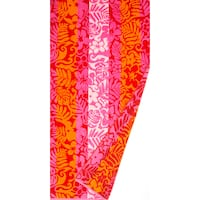 St.Tropez Sands Hawaiian Floral Pink Beach Towel Collection