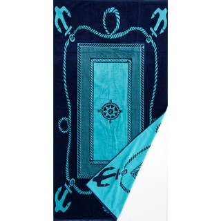 St.Tropez Sands Beach Towel Collection - Compass Nautical