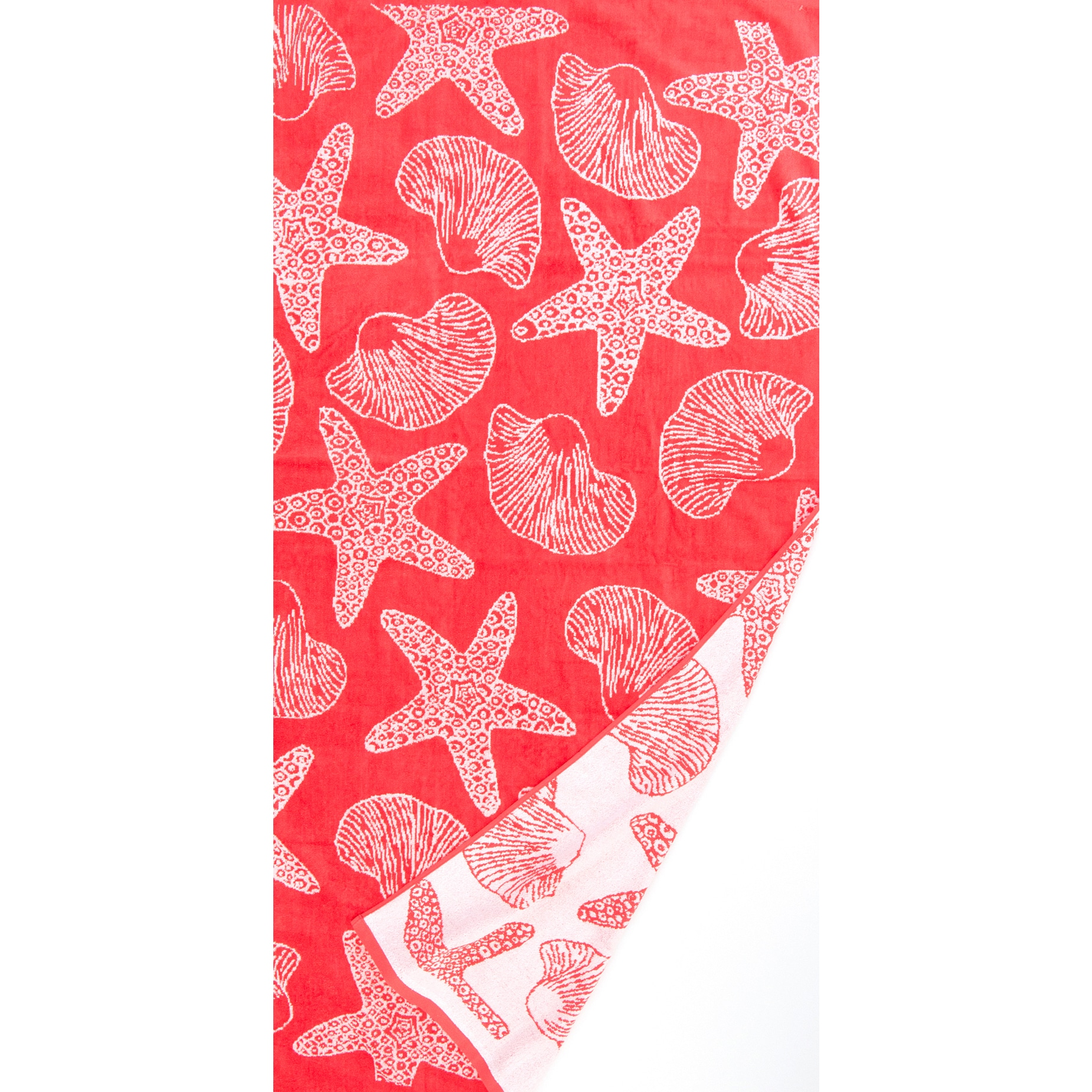 Global St.Tropez Sands Seashore Coral Beach Towel Collect...