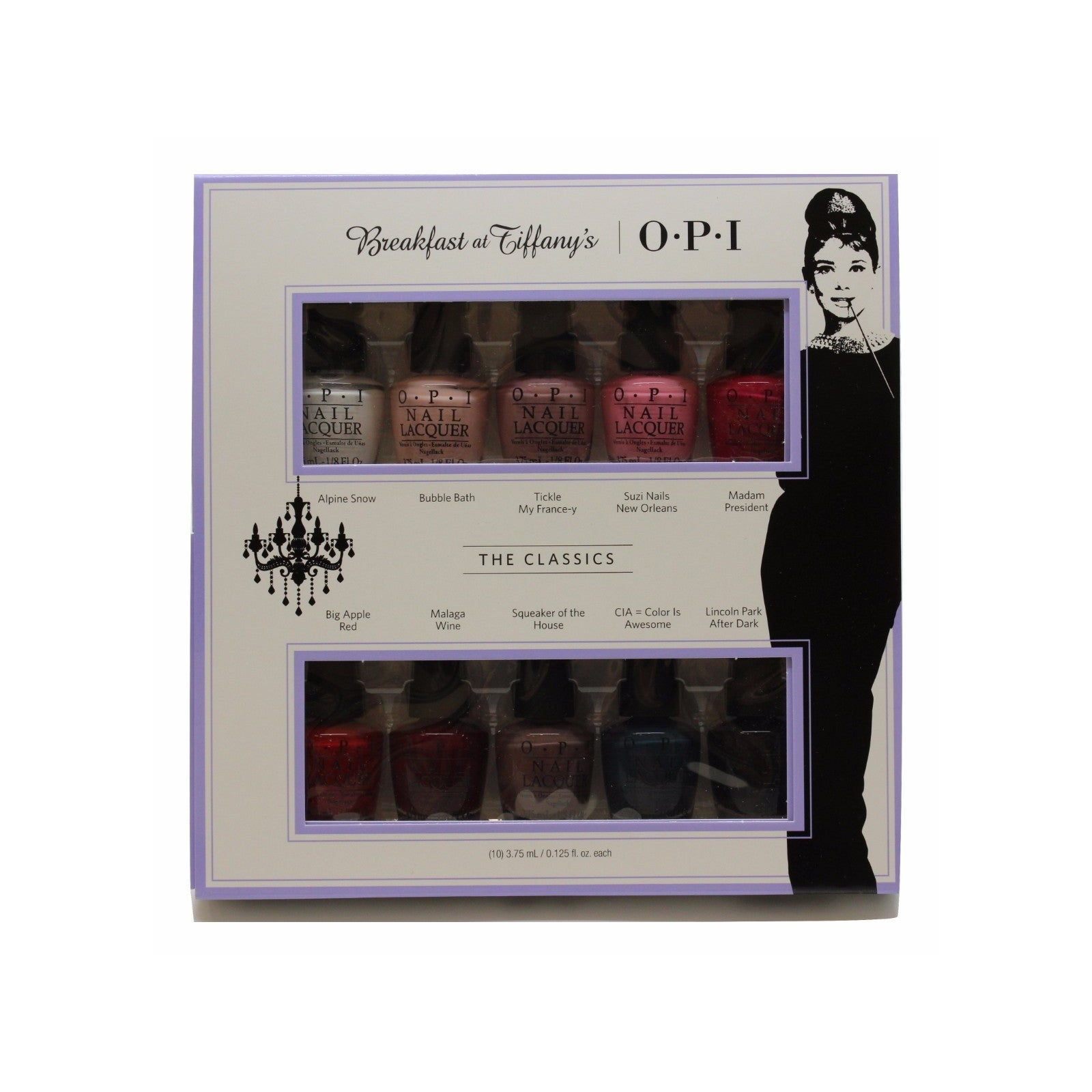 OPI Holiday 10-piece 2016 Mini Nail Lacquer Set (10 x .12...
