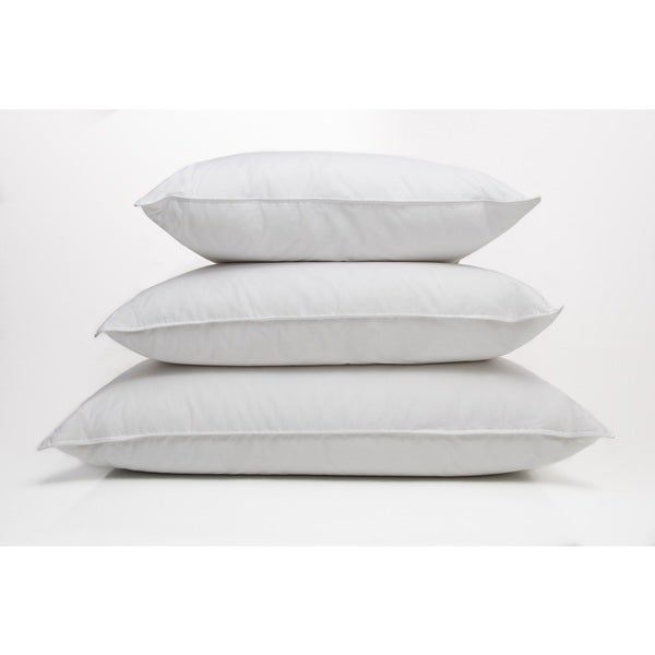 Ogallala Hypodown Pearl White Cotton 600-fill Extra Firm Down Pillow