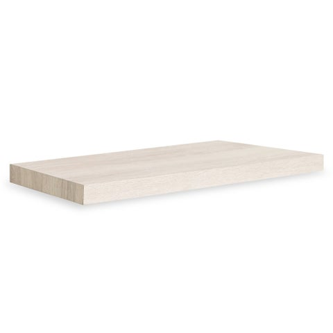 "Antigua Eco 24"" Soft Grain Floating Wall Shelf by Way Basics LIFETIME GUARANTEE"