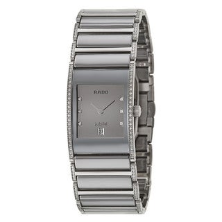 Rado Women's Integral Stainless Steel Swiss Quartz Watch - Silver