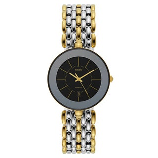Rado Men's Florence Gold Plated Swiss Quartz Watch