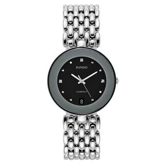 Rado Men's Florence Stainless Steel Swiss Quartz Watch