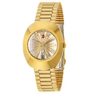Rado Men's Original Gold Plated Automatic Watch