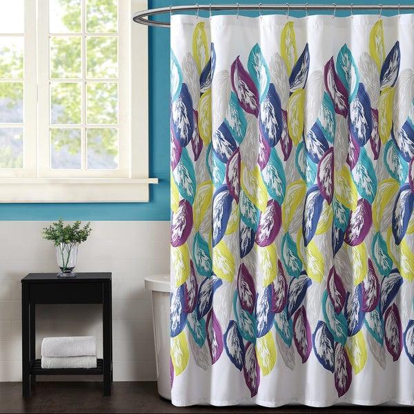 Christian Siriano Plume Shower Curtain