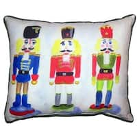 Nut Crackers Extra Large Zippered Throw Pillow